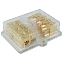AGU Sicherungsverteiler 4-fach 25 qmm auf 4x 10 qmm