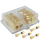 AGU Sicherungsverteiler 4-fach 25 qmm auf 4x 10 qmm +...