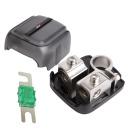 Messing Batterie Polklemme bis 50qmm + Mini ANL Sicherung