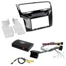 Can Bus INFO & Lenkrad Adapter + Radio Blende...
