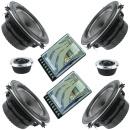 Lightning Audio High End 2 Wege Doppel-Kickbass System