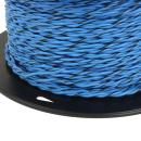 Lautsprecherkabel verdrillt 0,75qmm (OFC) Kupfer Blau