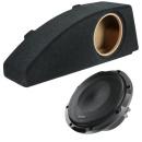 20cm Auto Subwoofer audison APS 8R + Bass Gehäuse...