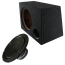 30cm Auto Subwoofer Massive Audio V124 + Bass Reflex...
