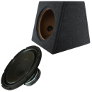 30cm Auto Subwoofer Massive Audio V124 + Bass...