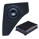 Bass Set 20cm Subwoofer STEG SQ8-4 + Verstärker...