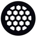 20cm Subwoofer Schutzgitter aus MDF Wabengrill