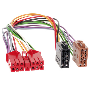 KFZ Autoradio Adapterkabel für Renualt R5, R19 II, R21 auf ISO