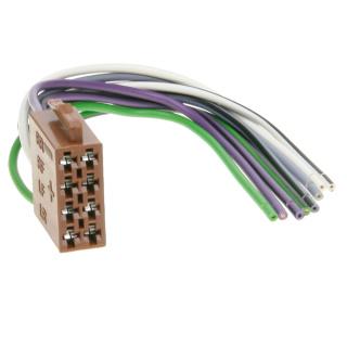 ISO Stecker Lautsprecher Anschluss Kabel