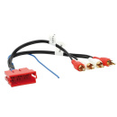 Aktivsystemadapter für Audi VW Mini ISO > Cinch
