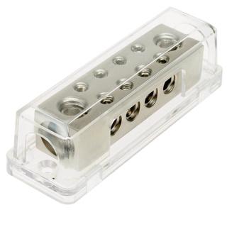 Stromkabel Verteilerblock (Silver Loock) 2 x 50 qmm  auf 8 x 10 qmm
