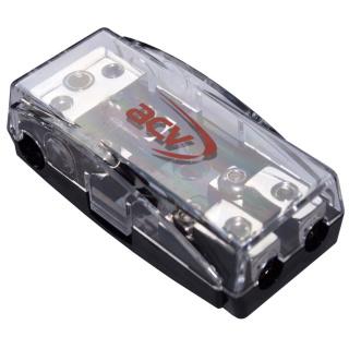 Mini ANL Sicherungsverteiler 1 x 35 qmm auf 2 x 16 qmm Stromkabel