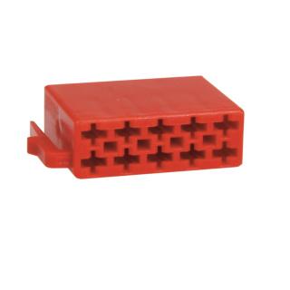ISO Stecker Leergehäuse 10 Polig