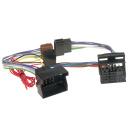 Autoradio T-Kabelsatz Adapterkabel Quadlock auf ISO...
