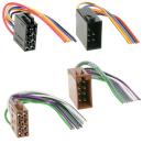 ISO SET Kabel Strom & Lautsprecher, Buchse & Stecker