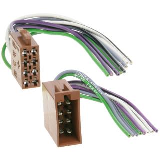 ISO Stecker & Buchse Lautsprecher Adapter Kabel