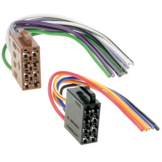 ISO Stecker Strom & Lautsprecher