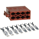 ISO Stecker Lautsprecher Leergehäuse inklusive 8...