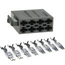 ISO Stecker Strom Leergehäuse inklusive 8 Stück...
