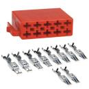 ISO Stecker Leergehäuse 10 Polig inklusive 10...
