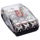 3-fach Auto Stromkabel Sicherungsverteiler + 100A Sicherungen