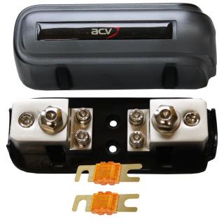 Kombi-Sicherungsverteilerblock ANL/Mini-ANL + 2x20A Mini