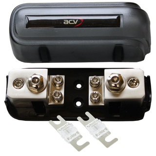 Kombi-Sicherungsverteilerblock ANL/Mini-ANL + 2x25A Mini