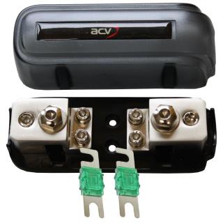 Kombi-Sicherungsverteilerblock ANL/Mini-ANL + 2x30A Mini