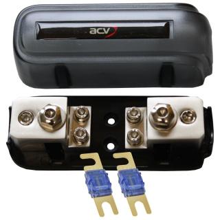 Kombi-Sicherungsverteilerblock ANL/Mini-ANL + 2x60A Mini