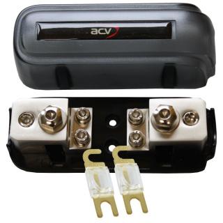Kombi-Sicherungsverteilerblock ANL/Mini-ANL + 2x80A Mini