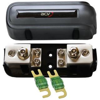 Kombi-Sicherungsverteilerblock ANL/Mini-ANL + 2x100A Mini
