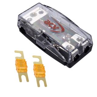 Mini ANL 2-fach Sicherungsverteiler 1 x 35 qmm auf 2 x 16 qmm + 40A