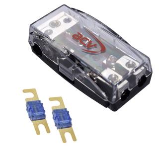 Mini ANL 2-fach Sicherungsverteiler 1 x 35 qmm auf 2 x 16 qmm + 60A