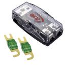 Mini ANL Sicherungsverteiler 1 x 35 qmm auf 2 x 16 qmm + 100A