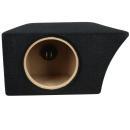 Spezifisches 20cm Subwoofer Gehäuse für Skoda Fabia 2 Kombi + Arc Audio ARC8D2