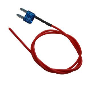 Mini-ATC Stecksicherung 15 Ampere mit Kabelabgriff