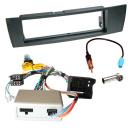 Auto Radio Einbauset BMW mit LFB CAN Bus PDC Adapter